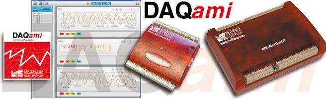DAQami Windows-Software fuer RedLab-USB-Serie
