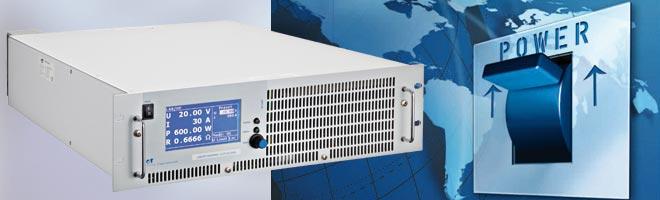 Highend DC- und AC-Netzteile von ETSYSTE, Lasten