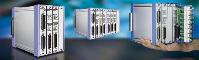Sensor-Messsystem instruNet - 12 Sensortypen direkt anschließen