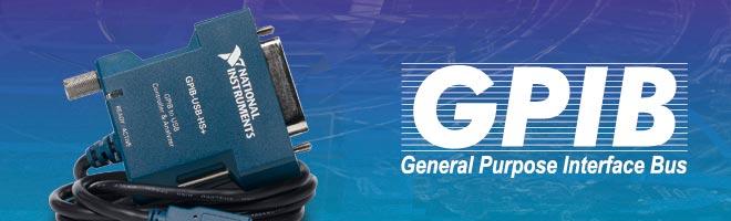 GPIB, IEEE488, HP-IB Schnittstellen/Interfaces von National Instruments