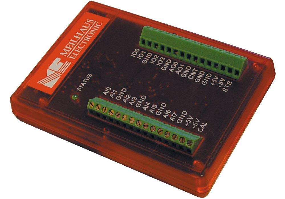 LabJack U12 USB Mini-Messlabor, Messsystem