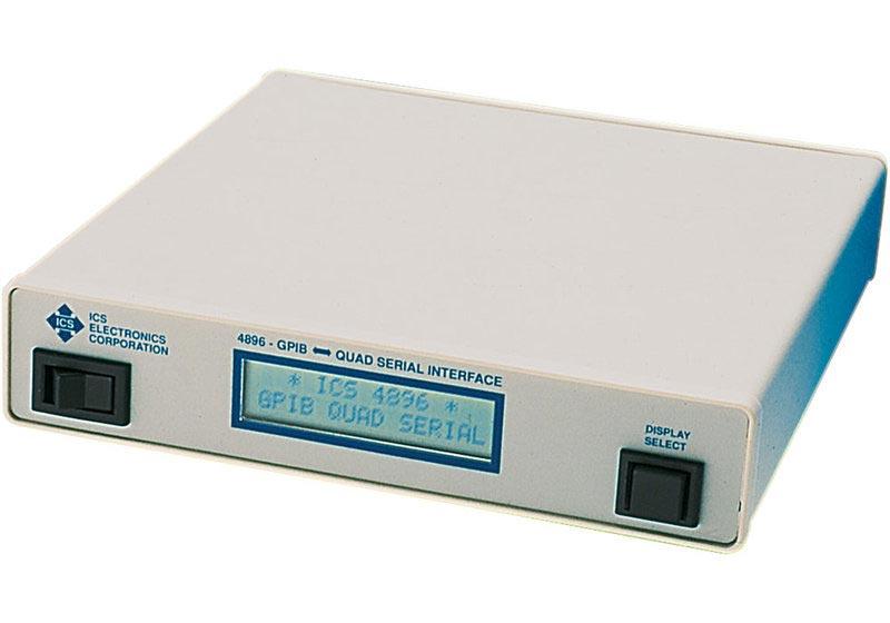 ICS Modell 4896 - GPIB-Interface 4 Ports seriell