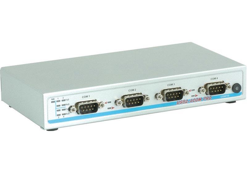 USB-4COM-PRO - USB zu 4x RS232, RS422, RS485