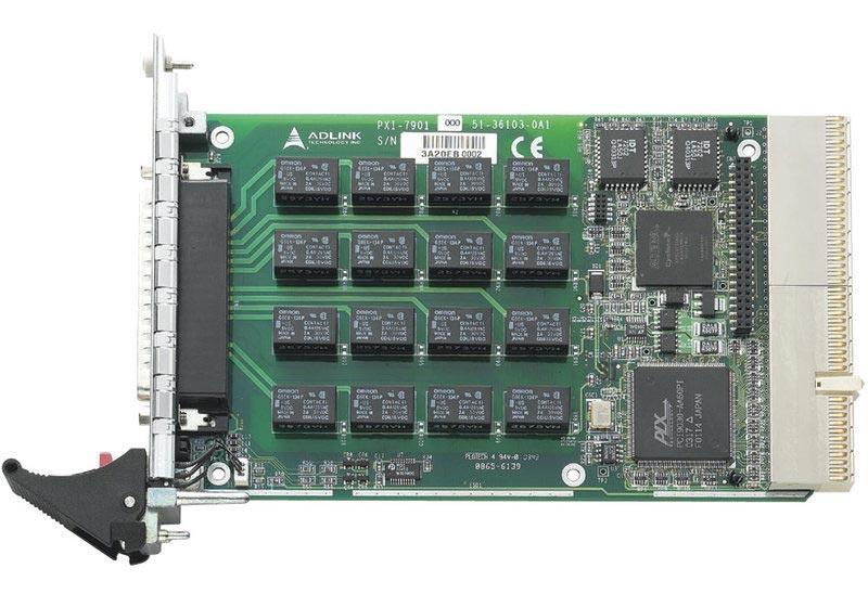 Adlink PXI-7901 Relais-Karte