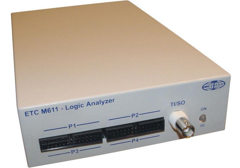 ETC M611/E 32-Kanal 100 MHz Logik-Analysator für LPT