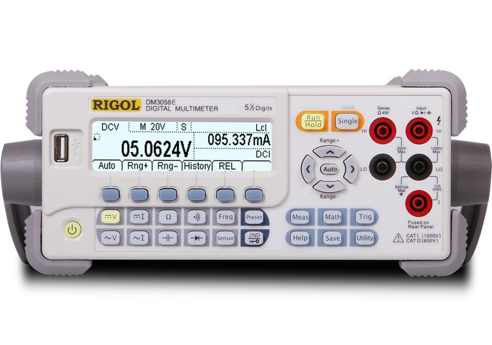 Rigol DM3058E Digital-Multimeter, 5½-Digits, lowcost