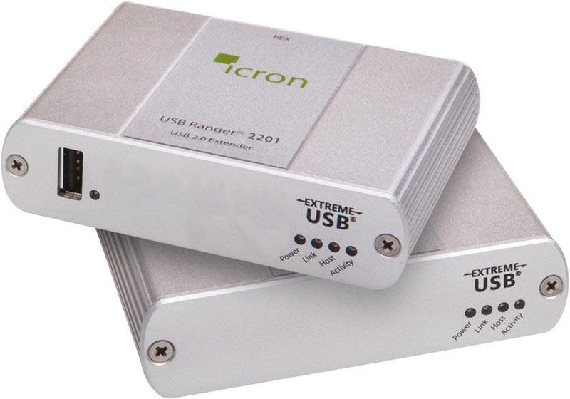 Icron Ranger 2201 - USB 2.0 Extender, 100 m Cat5e