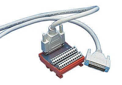 ME AB-D25 Anschluss-Blöcke für ME-Serie Mess-/Steuer-/Interface-Karten, 25-pol. Sub-D