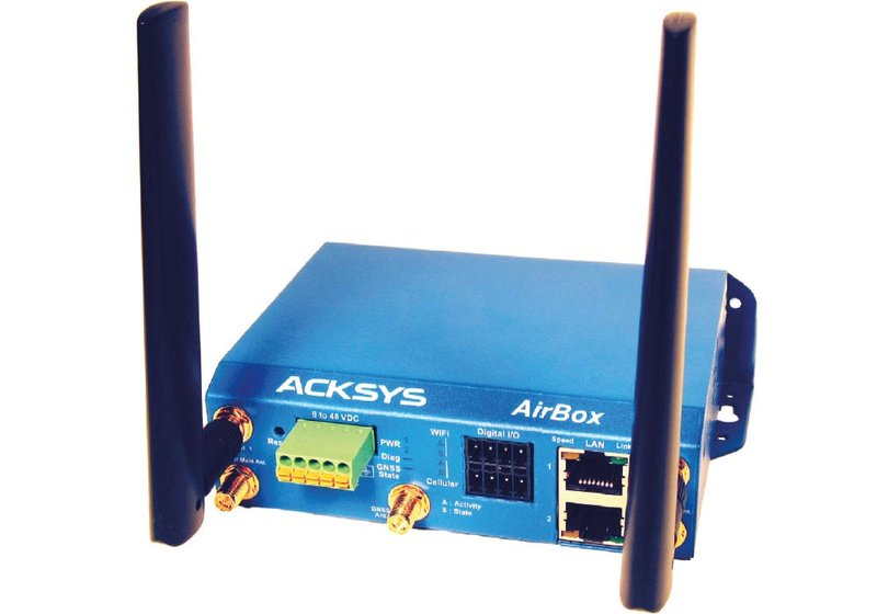 ACKSYS AirBox industrial dual WiFi access point, dual band