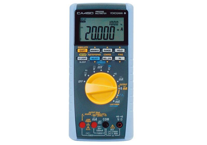 Yokogawa CA450 Handheld-Prozess-Multimeter