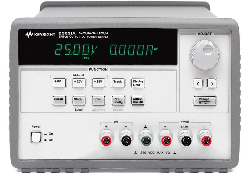 Keysight E3631A Power-Supply 80 W