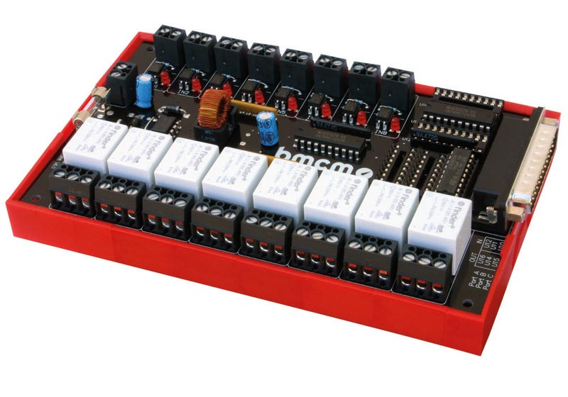 OR8 external optocoupler and relay boards