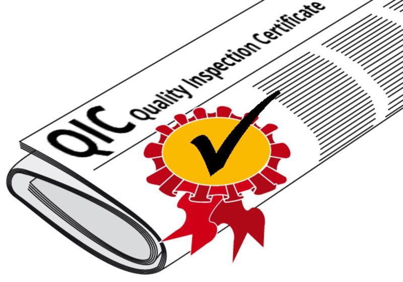 Yokogawa QIC quality inspection certificate