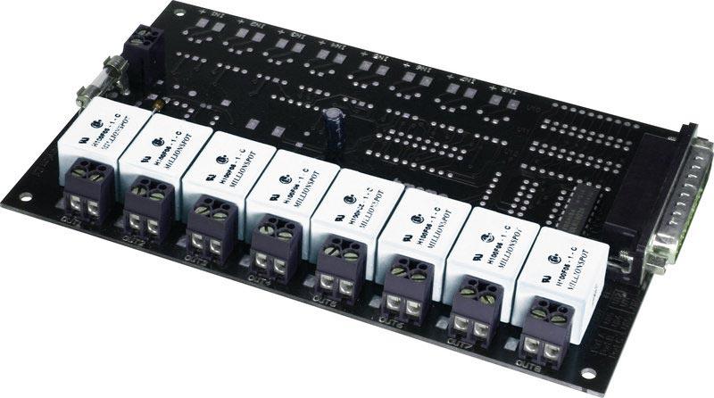 R8 external relay boards