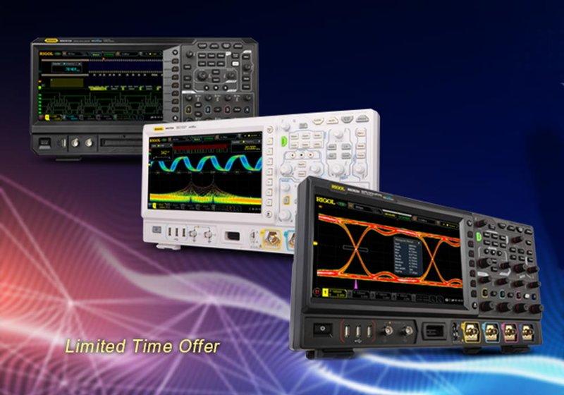 Rigol Promo: Erweitern Sie Ihr UltraVision II DSO/MSO kostenfrei!