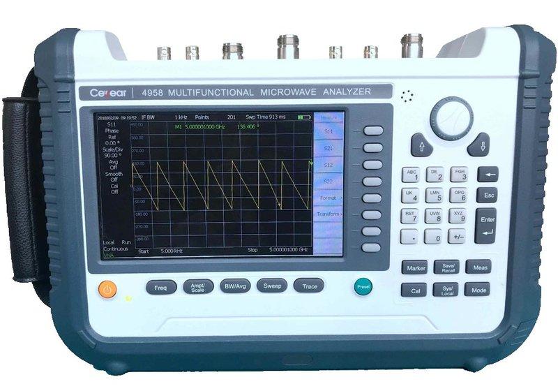 Ceyear 4958 multifunktionaler Handheld-Microwave-Analysator