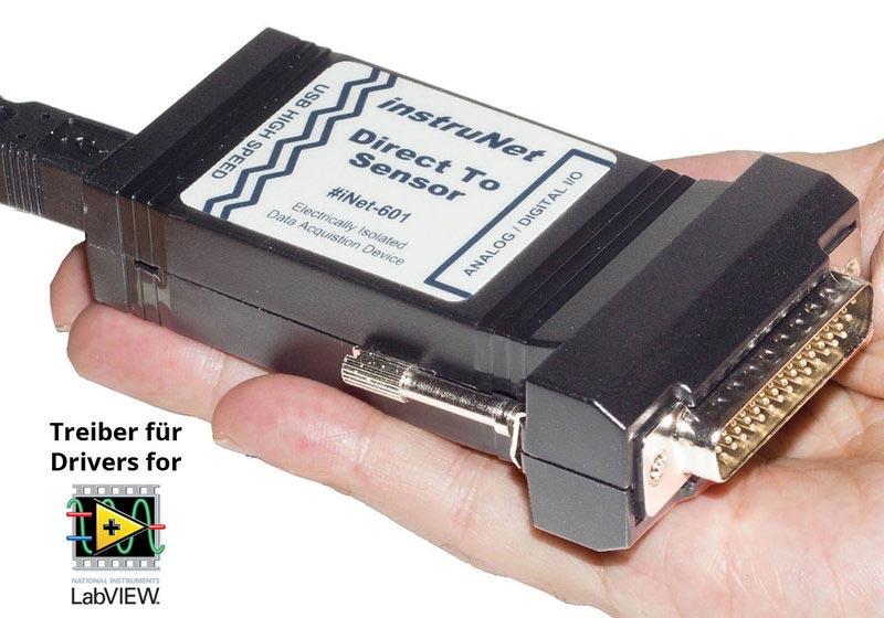 instruNet LabVIEW Treiber für i600/i601