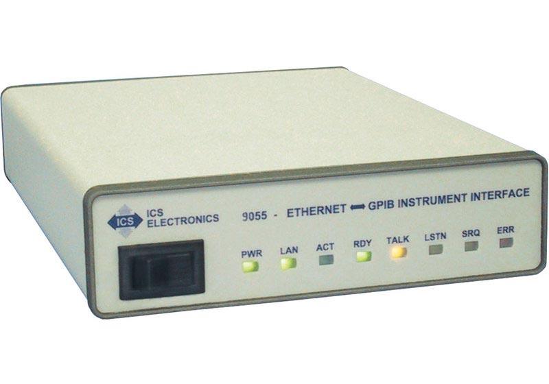 ICS Modell 9055 - GPIB-Interface Ethernet/LAN für Messgerät