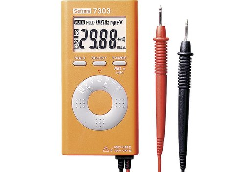 Sefram 7303 Digital-Multimeter im Taschenformat