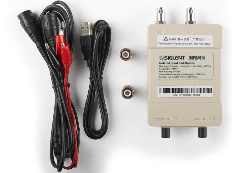 Siglent ISFE oscilloscope frontend isolator