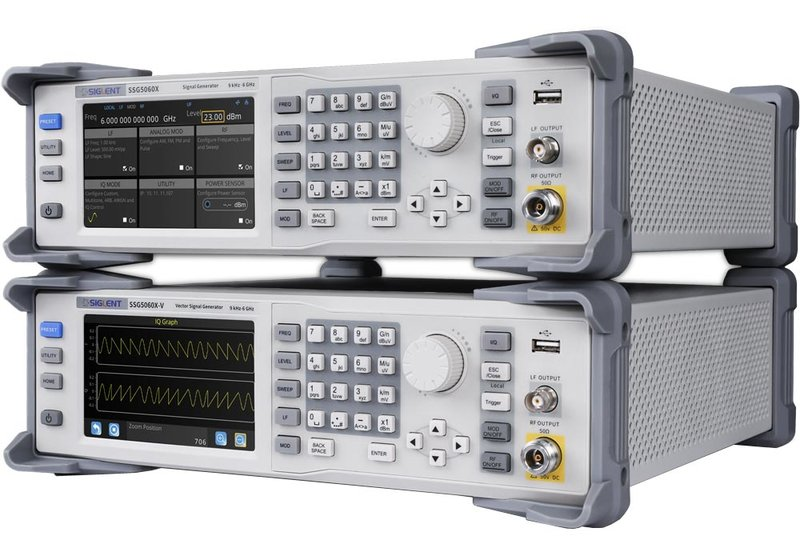 Siglent SSG5000X(-V) Series RF Signal Generator up to 4 or 6GHz