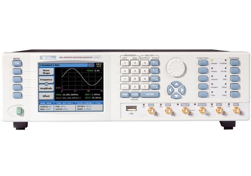 Tabor SE5082 - 5GS/s Zweikanal-Arbiträr-Signal-Generatoren