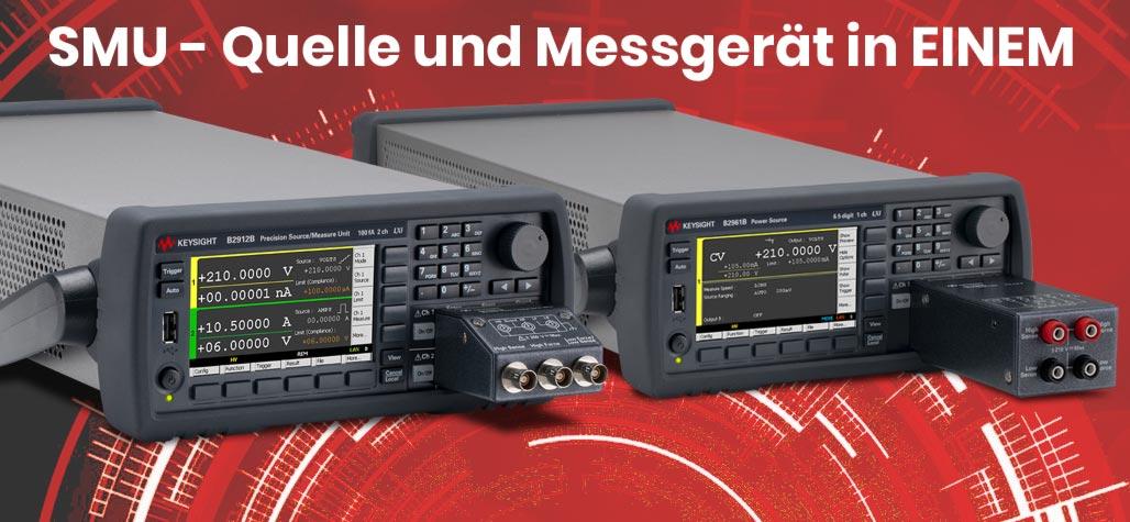 Keysight SMU2900B/BL Quelle und Messgerät in einem
