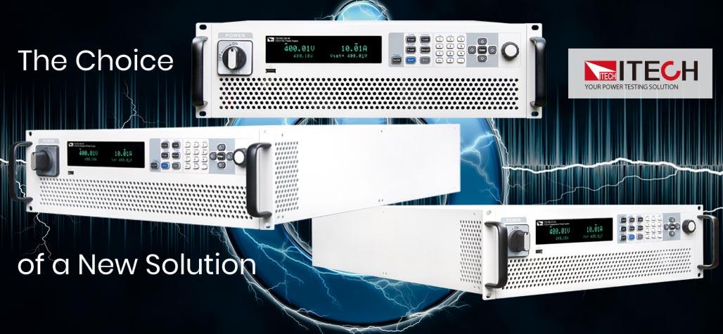 Oscilloscopes, digital-multimeters, waveform generators, RF instruments, power supplies