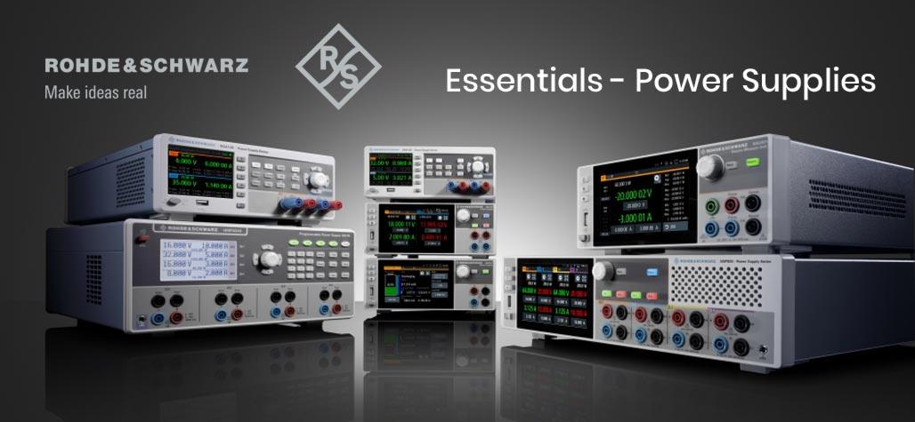 Rohde & Schwarz Essentials - Power Supplies