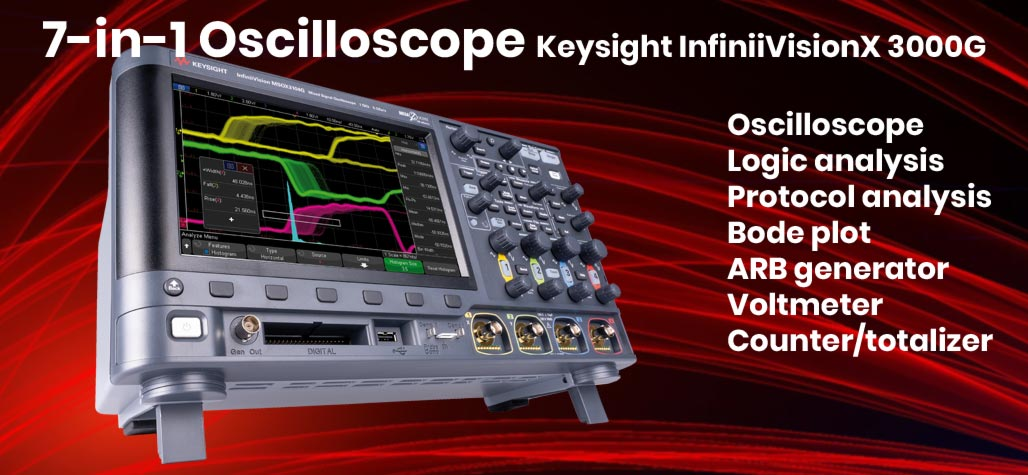 Keysight Smart Bench Essentials - low-cost professional measurement and test