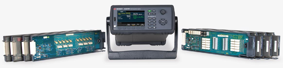 Datenlogger-, Mess- und Switch-System Keysight DAQ970A