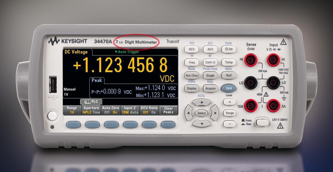Keysight 34470A 7½-Digit Digital-Multimeter