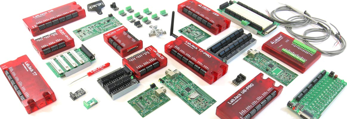 LabJack series - modules and accessories