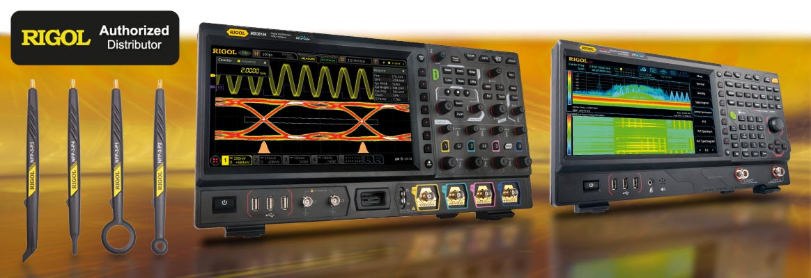 Rigol oscilloscopes, spectrum-analyzers, multimeters, signal and power sources