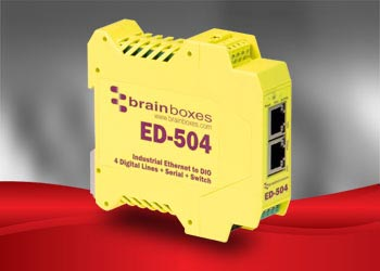 Brainboxes ED series I/O module