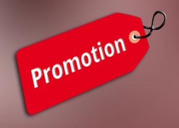 New promotions
