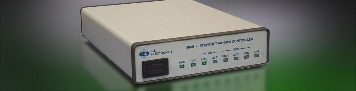 GPIB converter boxes: Ethernet-to-GPIB