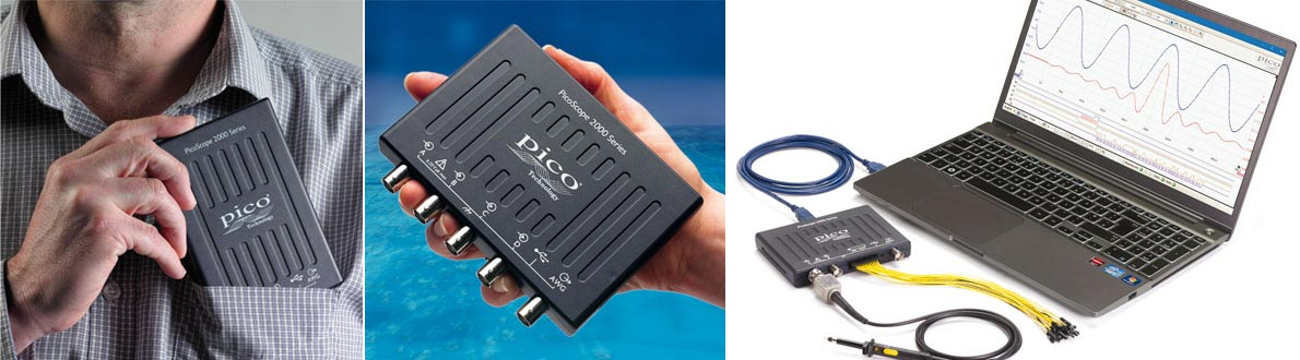 PicoScope USB PC-Oszilloskope + Software