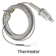 Connect thermistors to instruNET i600 and i601