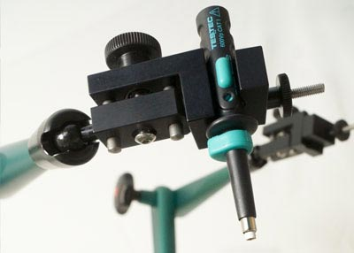 ClampMan detail: Probe holder